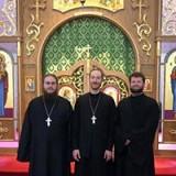 Fr. John Parker, Fr. Andrew Nelko, Dn. John Kotalik